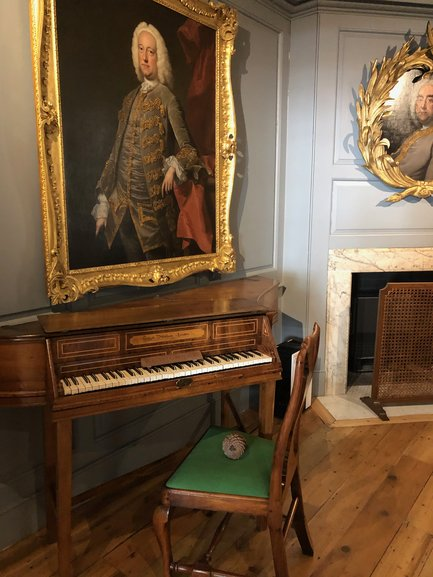 George Handel's Composition Room, as the name says this is the room in which Handel composed his music quickly and intensively