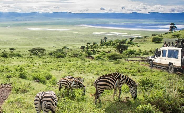 Ngorongoro Crater Camping Safari